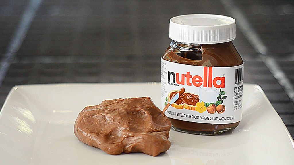 slime con nutella commestibile e non commestibile